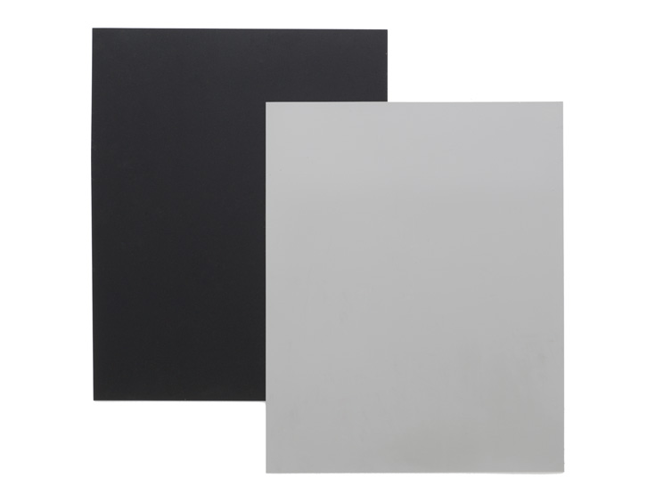 Black and gray portable dance floor