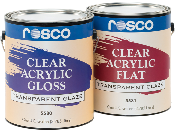 Clear Acrylic Glazes   Rosco